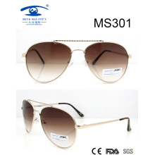 Fashion Woman Lady High Quality Competitive Price Metal Sunglasses (MS301)
